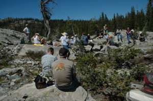 Sierra rock art tour 082011
